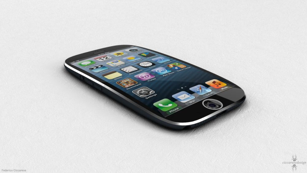 iPhone concept by Ciccares Design