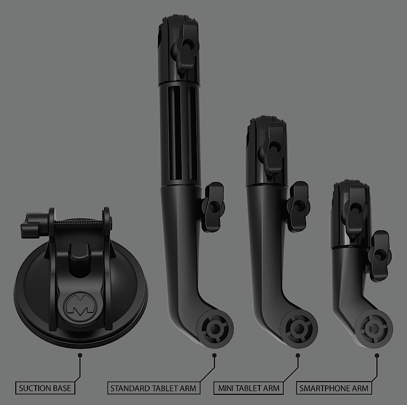 Replacement parts for mount customization